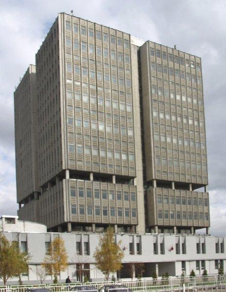 Здание НПО Орион, Москва здания, модернизм, советская архитектура