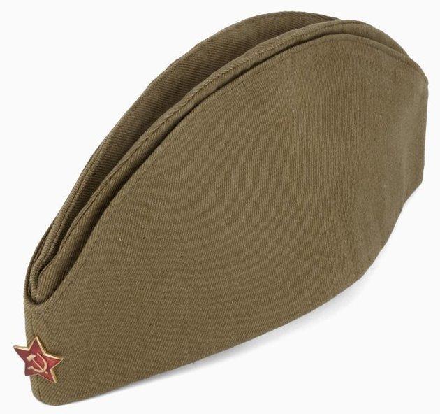 Советская пилотка. Изготовлена в 1990 году Вооружённые силы, армии, девушки, девушки в армии, пилотка, пилотки, раритет, современные пилотки