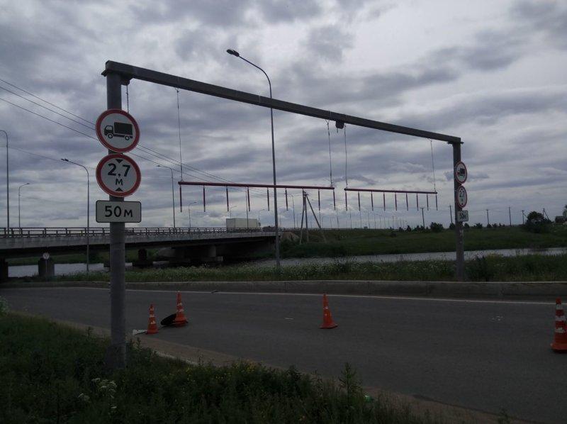 Мост Глупости скорее всего прекратит радовать нас новыми Газельками авто, дтп, юмор