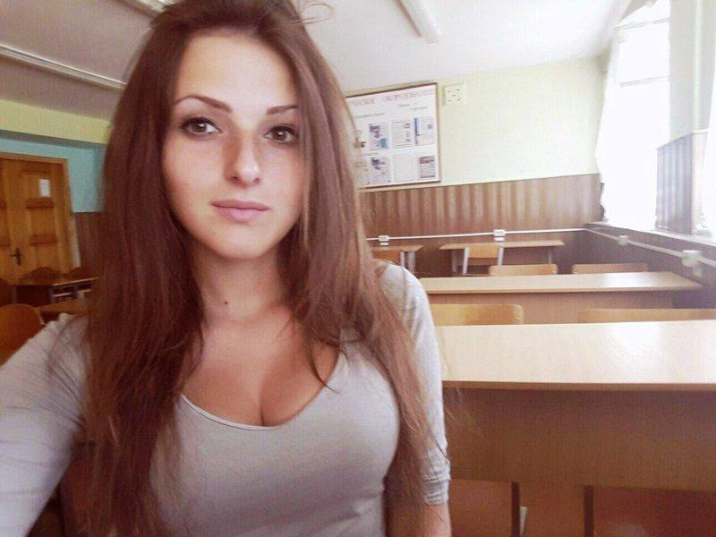 Подборка школьниц с красивыми глазами бюст, в купальнике, грудь, девочки, декольте, няшки, секси, школьницы