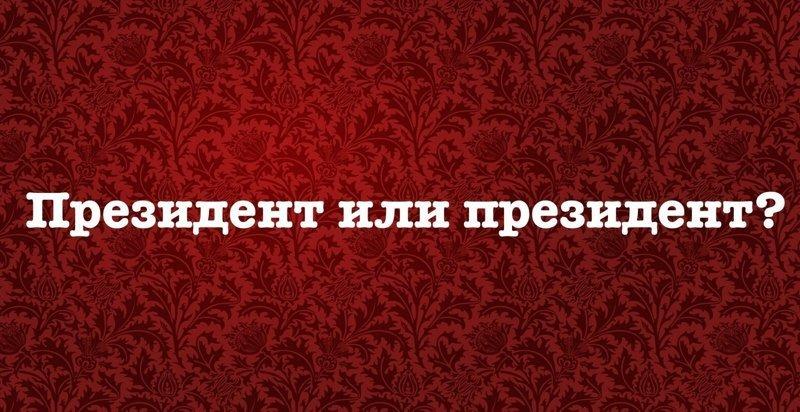 6. Как правильно: Президент или президент? правила русского языка, русский язык, строчная и прописная буквы