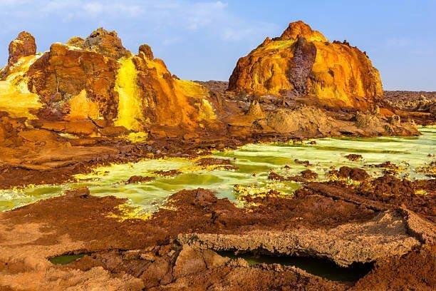 «Геологическая депрессия». Как выглядит одно из самых опасных мест в мире африка, безжизненная, пустыня