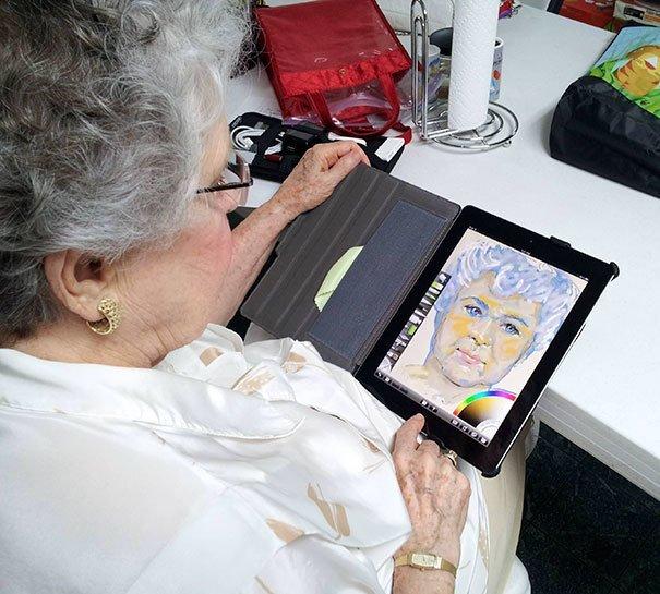 1. Первый iPad в 84 года встреча, мечта, первый раз, путешествие, реакция, событие, эмоции