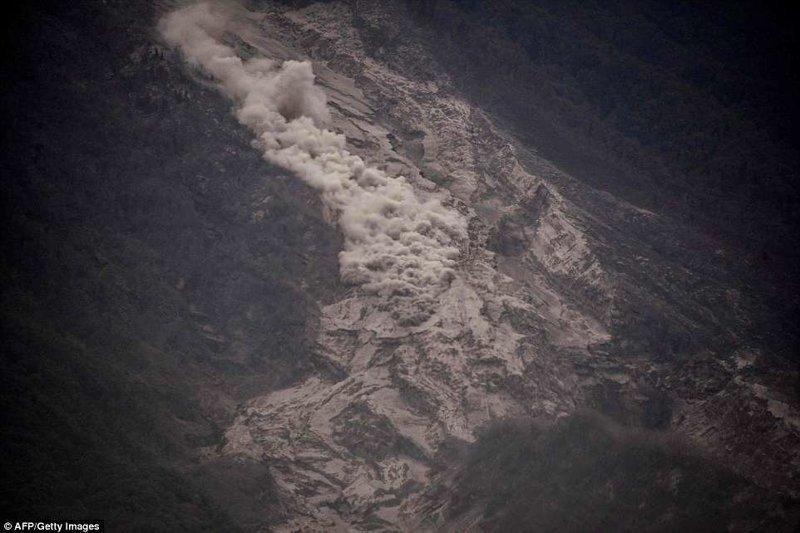 Гватемала. Вулкан Фуэго - Вулкан Огня Фуэго, вулкан, гватемала, извержение, новости со всего мира