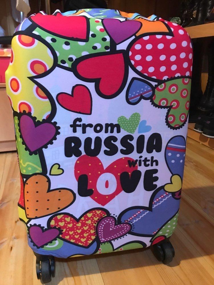 Из России с любовью aliexpress, покупка, прикол, продажа, путешествие, чемодан, чехол, юмор