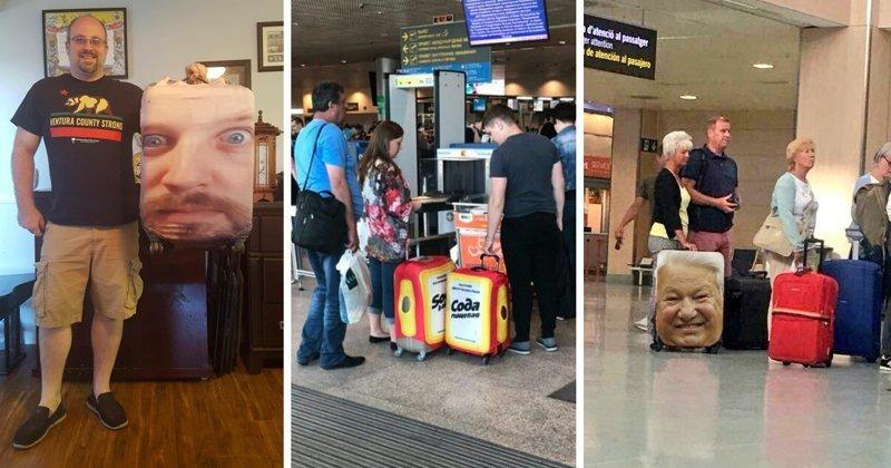 ТОП самых сумасшедших чехлов для чемоданов aliexpress, покупка, прикол, продажа, путешествие, чемодан, чехол, юмор