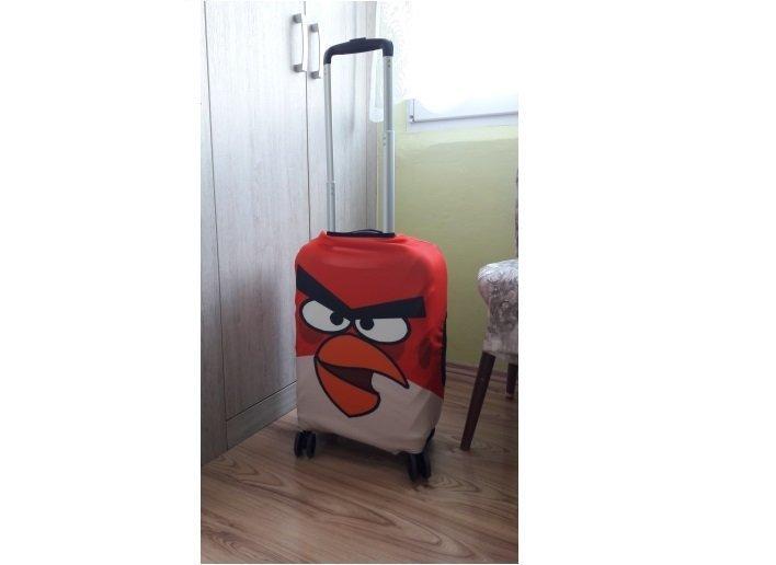 Чехол Angry Birds aliexpress, покупка, прикол, продажа, путешествие, чемодан, чехол, юмор