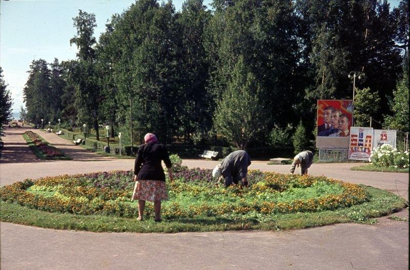 Парк в Зеленогорске 60-е, СССР, ленинград, ностальгия, советский союз