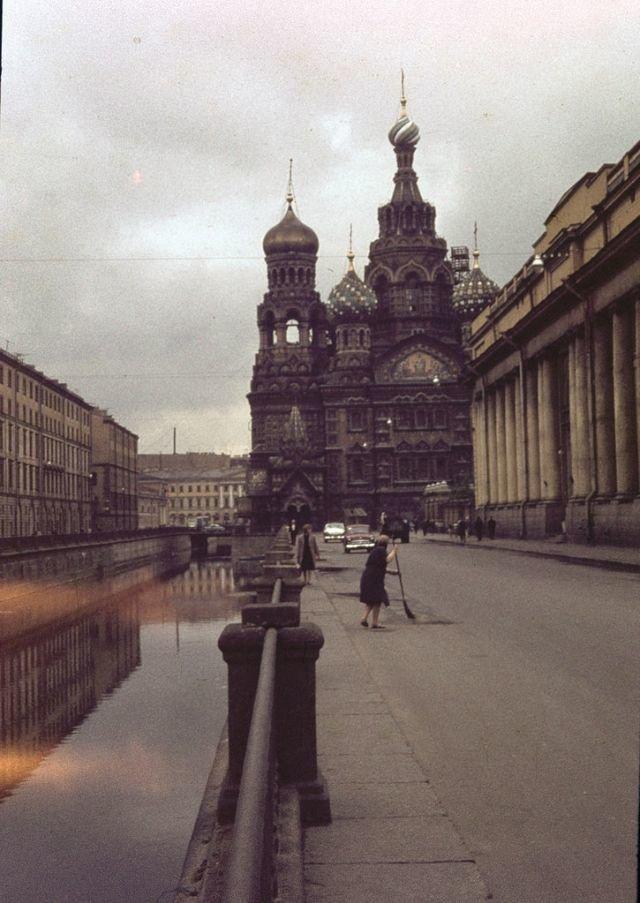 Храм Воскресения Христова 60-е, СССР, ленинград, ностальгия, советский союз