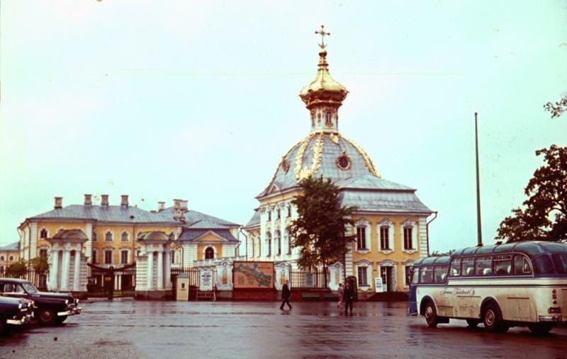 Петергоф 60-е, СССР, ленинград, ностальгия, советский союз