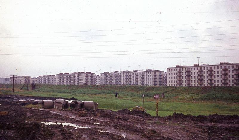 Классическая советская застройка 60-е, СССР, ленинград, ностальгия, советский союз