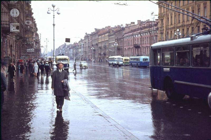 Улицы Ленинграда 60-е, СССР, ленинград, ностальгия, советский союз