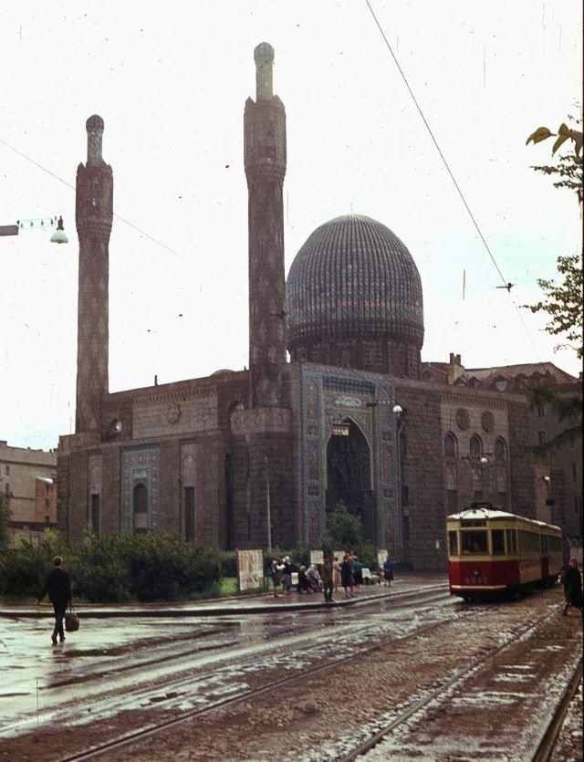 Санкт-Петербургская соборная мечеть 60-е, СССР, ленинград, ностальгия, советский союз