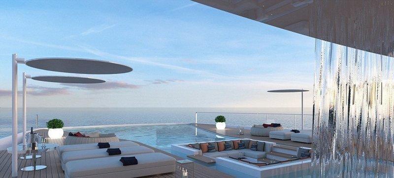 Итальянец собирается построить самую роскошную в мире яхту ценой $250 000 0000 shaddai, габриэле теруцци, роскошь, шаддай, яхта
