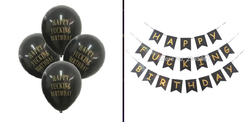 """5. <a href=""""http://bit.ly/2rqroLv"""">Шары и флажки с пожеланиями счастливого дня рождения</a> aliexpress, акции, алиэкспресс, подарки, покупки, скидки, товары, шоппинг"""