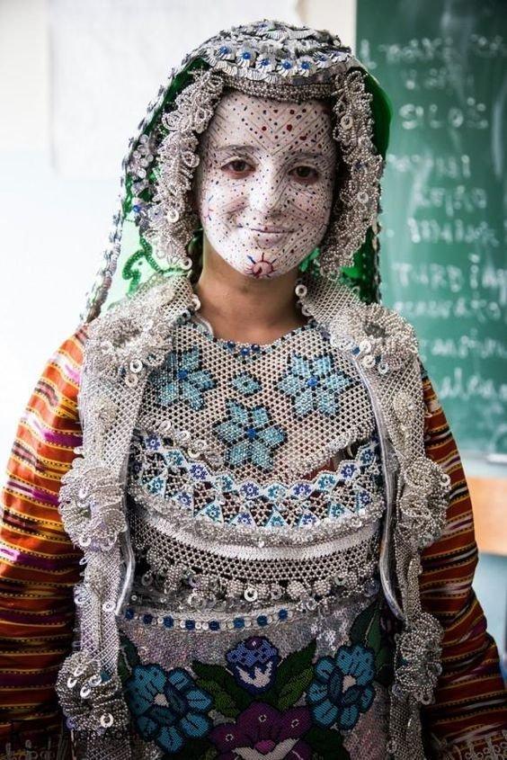 Свадебный наряд Косово - практически неизменный уже много веков исторические фото, история, мода, прическа, свадьба, факты