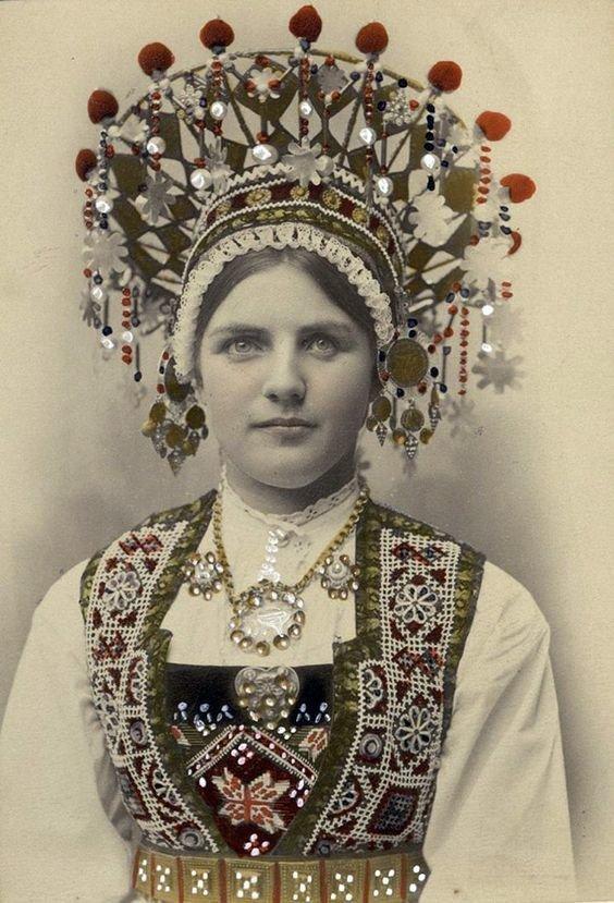 Норвегия не отстает исторические фото, история, мода, прическа, свадьба, факты