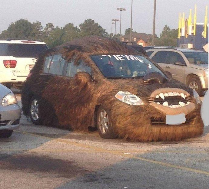 Мёрзните в машине зимой? автоприблуды, прикол, юмор
