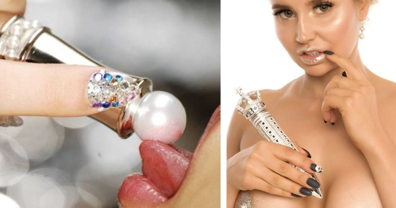 Ювелир представил публике самый дорогой в мире вибратор Колин Берн, бриллианты, вибратор, драгоценности, интимные игрушки, лучшие друзья девушки, неформатная драгоценность, ювелир
