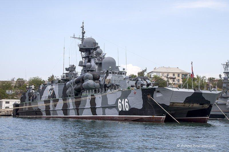 Знакомьтесь: малый ракетный корабль на воздушной подушке «Самум», бортовой номер 616. вмф, корабли, россия