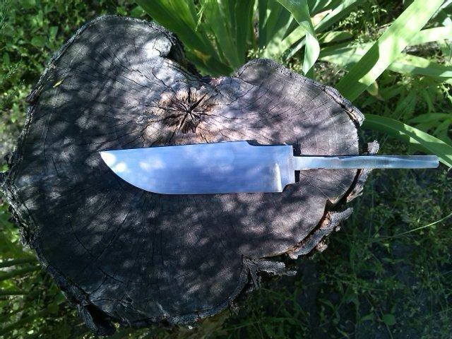 делаем нож из пластины стали нож, подарок другу, своими руками, сделай сам