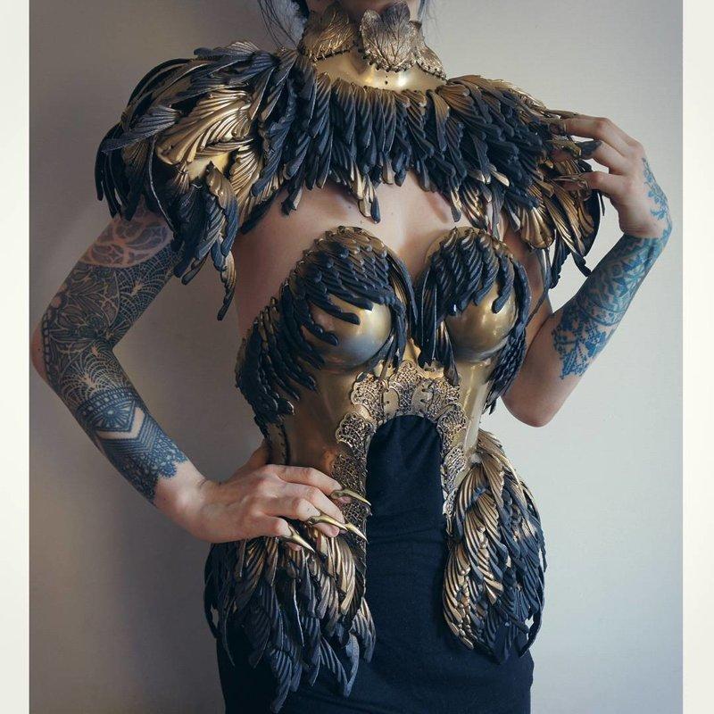 Сказочные мотивы, роскошь и готика в костюмах польского художника агнешка осипа, костюмы, одежда, славянские мотивы, художник по костюмам