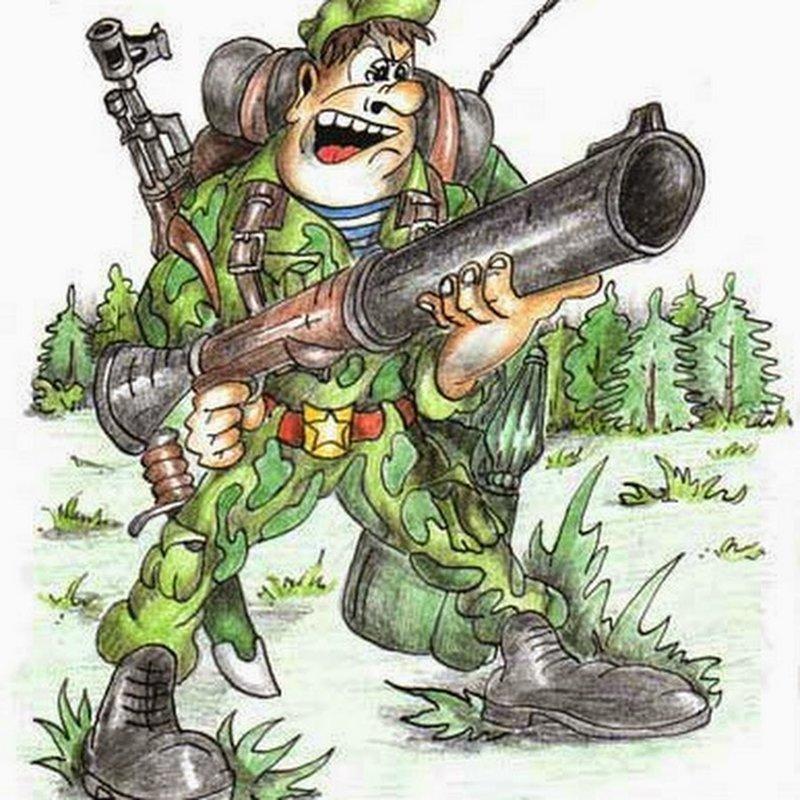 Смешные солдатские картинки, для