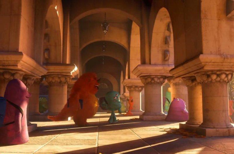 Просто «Университет монстров» / Просто Принстонский университет в мире, достопримечательности, интересно, мультфильм
