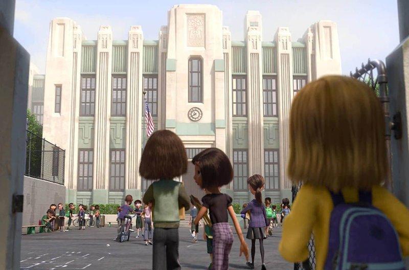 Школа Джеймса Лика, «Головоломка» / Она же в реальной жизни, Сан-Франциско в мире, достопримечательности, интересно, мультфильм