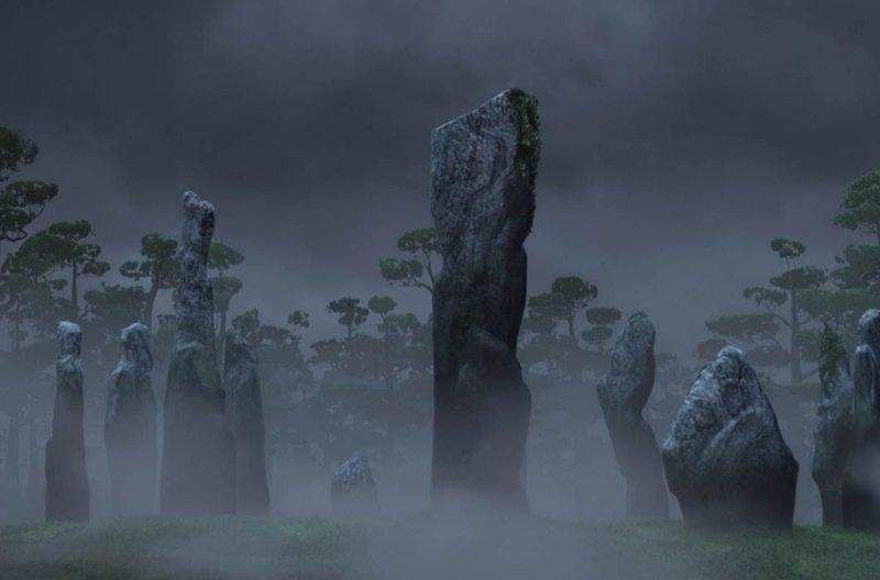 «Стоящие камни», «Храбрая сердцем» / Калланиш, Шотландия в мире, достопримечательности, интересно, мультфильм