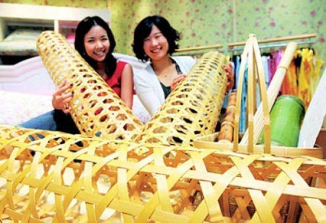 Для чего нужно это бамбуковое изделие? бамбук, загадка, изделие, интересное