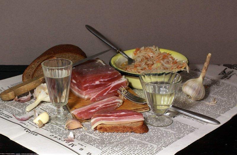 Любопытные факты и мифы о сале еда, любопытно., сало, факты