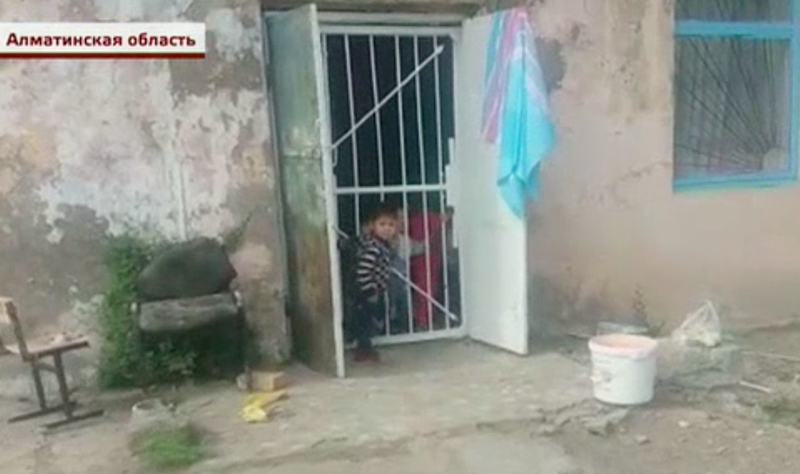 6. В селе Алмалы, в Казахстане, есть только один детский сад, и тот частный ynews, дети, детский сад, кошмар, новости, плохие условия в детском саду, фото