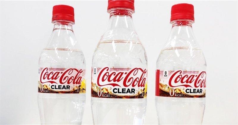 В Японии начнут продавать бесцветную кока-колу coca-cola, ynews, история, калорийность, кока-кола, кола, лимон, япония