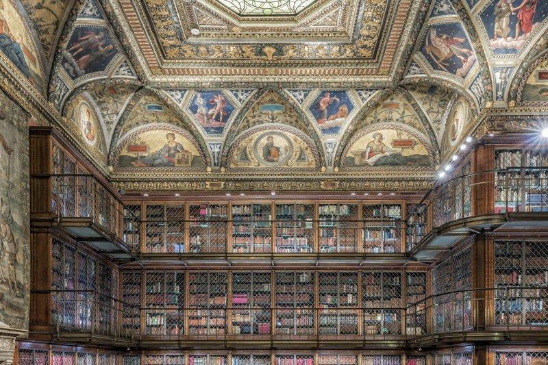 4. Библиотека и музей Моргана, Нью-Йорк, США архитектура, библиотека, библиотеки, библиотеки мира, красота, путешествия, фотограф, фотопроект