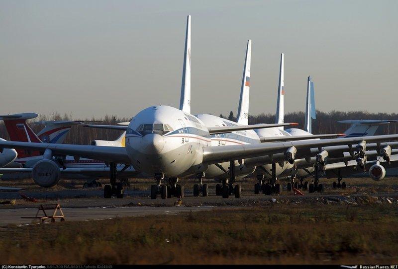 Исторический взлет Ил-96-300 Ил96, Ильюшин, авиация, домодедово