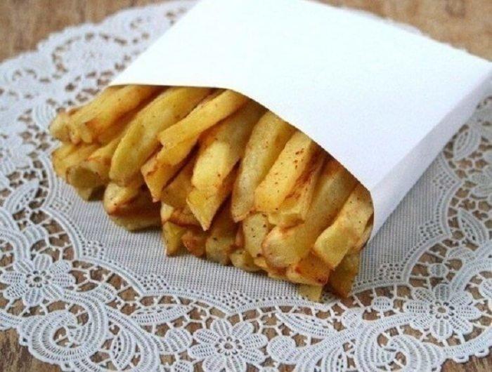 Готовим картофель фри без капли масла и жира еда, картофель фри, сделай сам