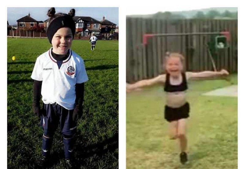 Шестилетняя футболистка стала звездой за один удар гол, гол века, дети, интернет-сенсация, спорт, футбол, юная футболистка, юные спортсмены
