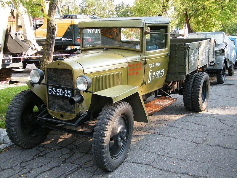 ГАЗ-44 автомобили, газ, фоторепортаж