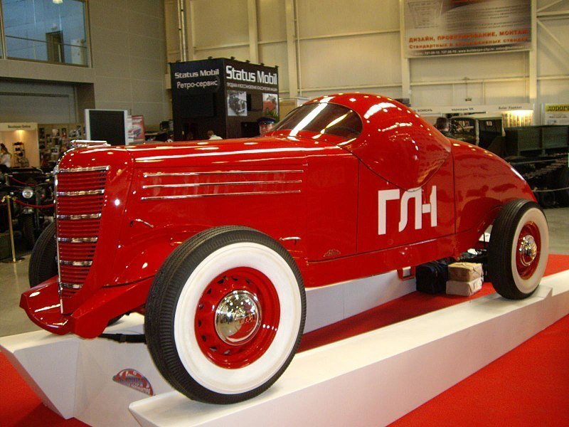 ГАЗ-ГЛ-1 автомобили, газ, фоторепортаж