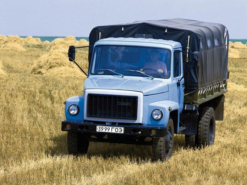 ГАЗ-3307  автомобили, газ, фоторепортаж