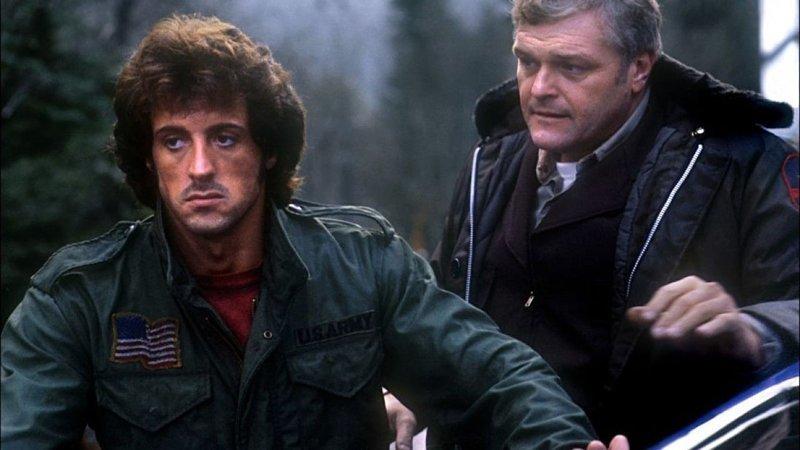 Рэмбо: Первая кровь (1982) боевики, выходной, залипалово, кино, фильмы