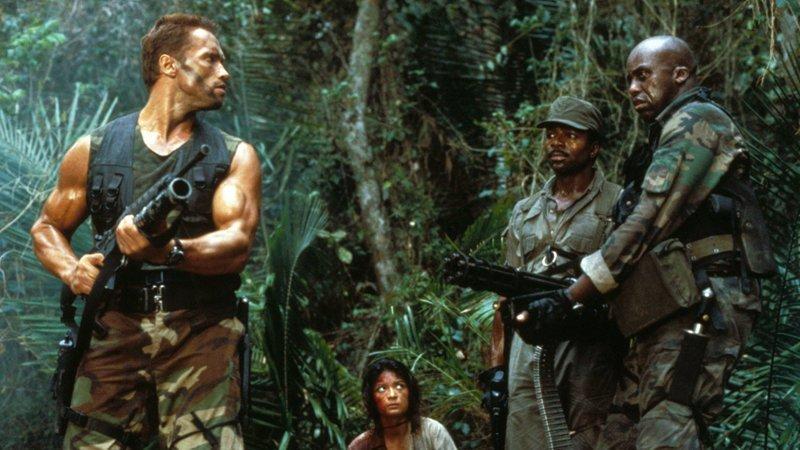 Хищник (1987) боевики, выходной, залипалово, кино, фильмы