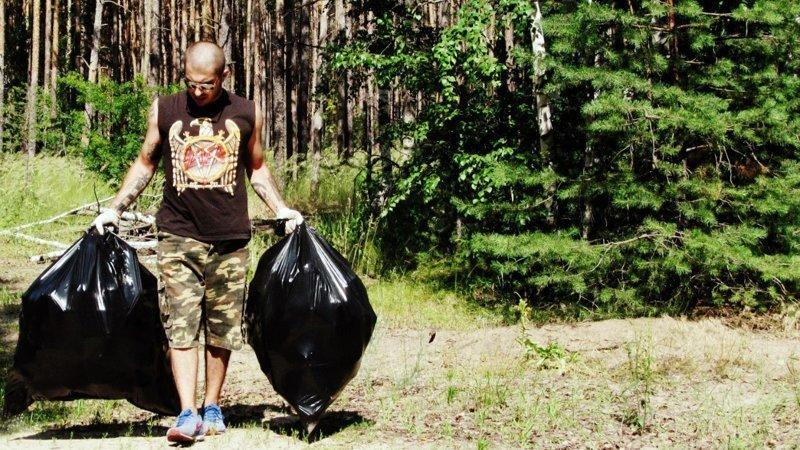 Жить в мусоре или в чистоте — личный выбор каждого истории, люди, мусор, природа