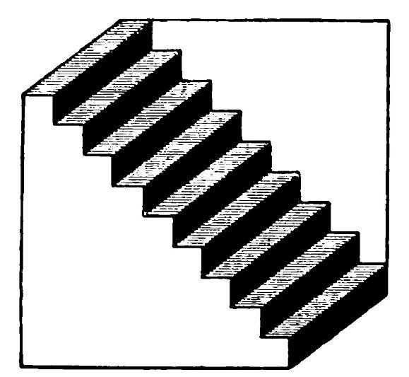 10 оптических иллюзий, которые разрушают все физические законы взрыв мозга, логика, нарушение законов, обман зрения, оптическая иллюзия, физика