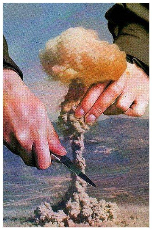 О войне и мире Коллажи, интересное, искусство, реальность, художники