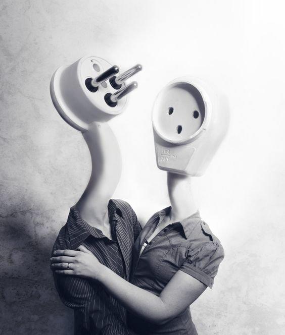 О любви Коллажи, интересное, искусство, реальность, художники