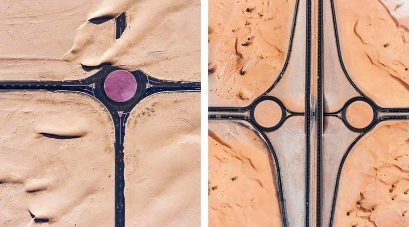 Удивительные фотографии того, как пустыня захватывает Дубай и Абу-Даби абу-даби, в мире, дубай, красота, природа, пустыня, фотограф
