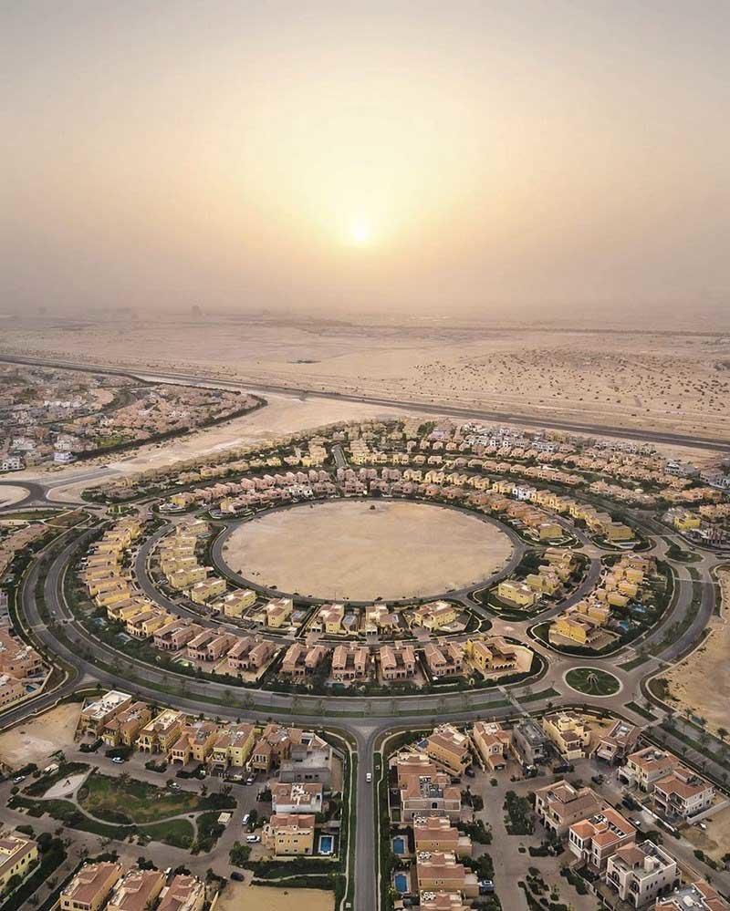 12. Городской закат в пустыне (Дубай, ОАЭ) абу-даби, в мире, дубай, красота, природа, пустыня, фотограф