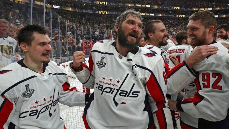 Вашингтон Кэпиталз выиграли Кубок Стэнли!!! nhl, Кэпиталз, вашингтон, видео, кубок стэнли, спорт, хоккей